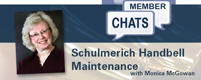 Monica McGowan – Schulmerich Handbell Maintenance