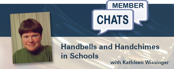 Kathleen Wissinger – Handbells and Handchimes in Schools