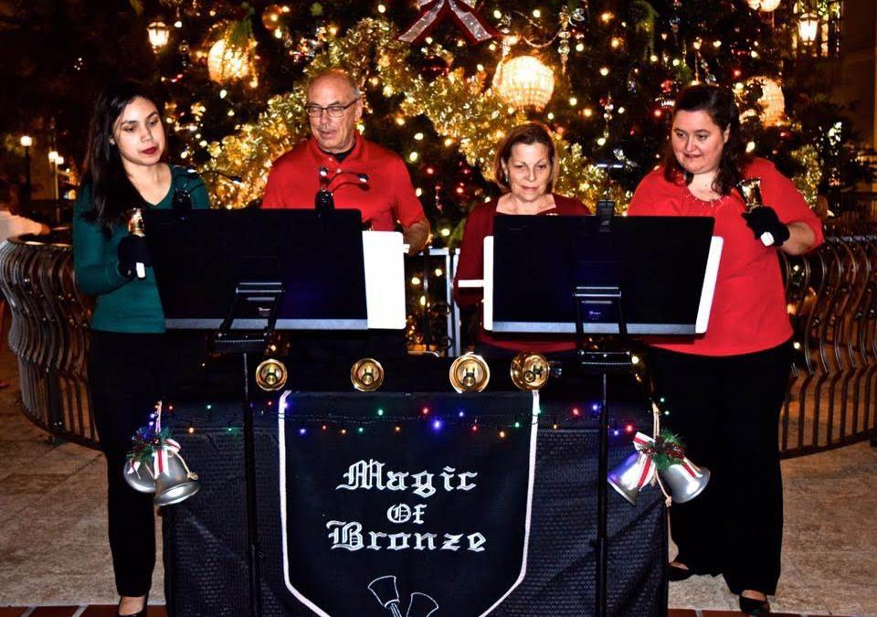 Christmas Caroling.Christmas Caroling At Disney Springs Handbell Musicians Of